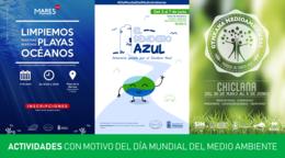 Actividades con motivo del Día Mundial de Medio Ambiente