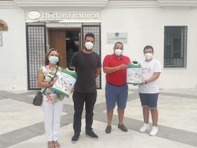 Entrega de premios de Ecovidrio en Chiclana Natural