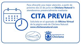 Chiclana Natural incorpora la cita previa.