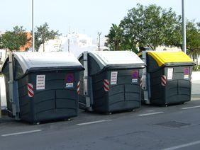 Contenedores de residuos y selectiva