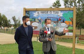 Presentación del Alcalde y Delegado de Medio Ambiente