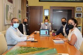 Reunión del Alcalde con GECOR, desarrolladores de Mejora Chiclana