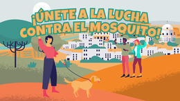 Desinsectación de las redes de saneamiento contra el mosquito