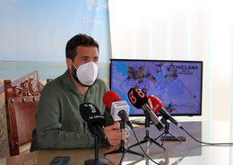 Delegado de Medio Ambiente durante la presentación de la campaña