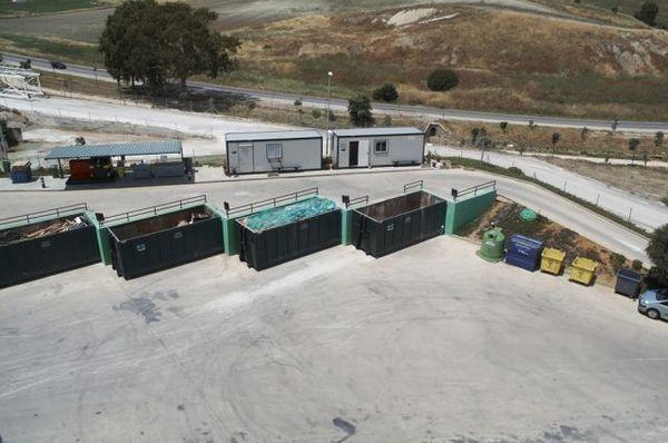 imagen de área de reciclaje urbisur