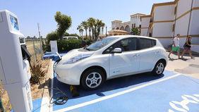 Punto de recarga para coches eléctricos en Chiclana