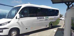 Presentación nuevo minibus de biogás