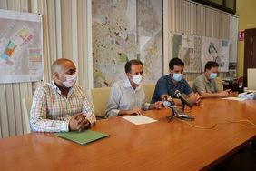 Rueda de prensa de presentación de la alegación a la subida de las tasas de Agua y Basura.