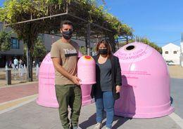 Campaña 'Recicla Vidrio por Ellas' en Chiclana