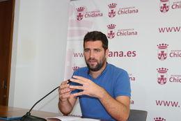 El delegado Roberto Palmero en rueda de prensa