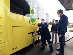 Autobús biogas