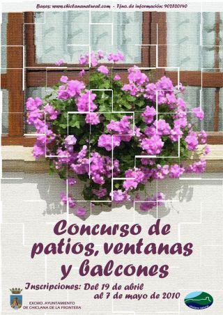 concurso patios, ventanas y balcones chiclana