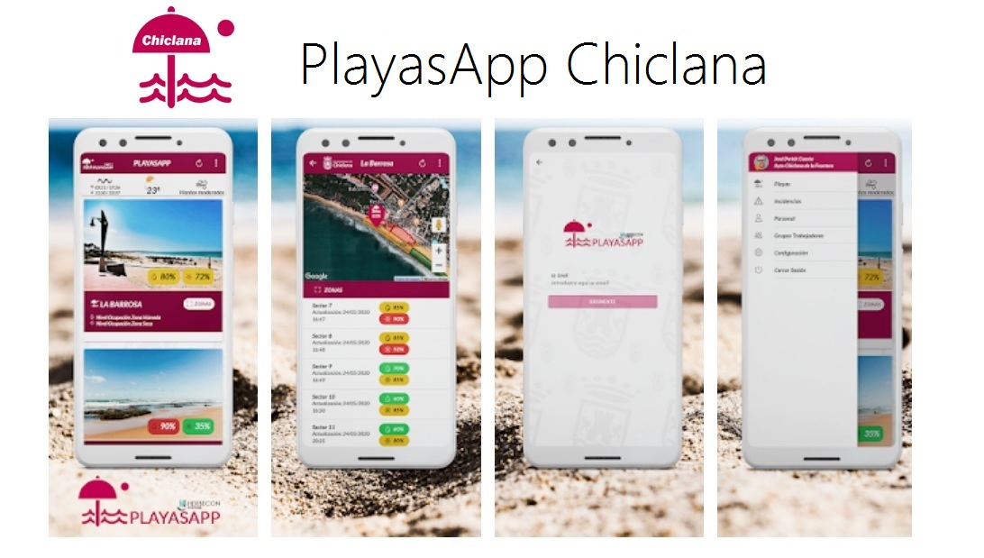 App Playas de Chiclana
